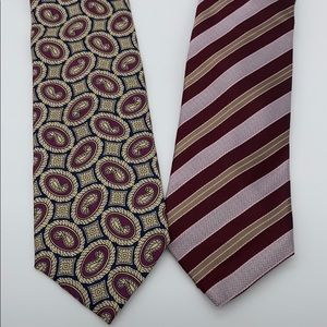 Set of 2 - For Nordstrom Collaboration Silk Ties